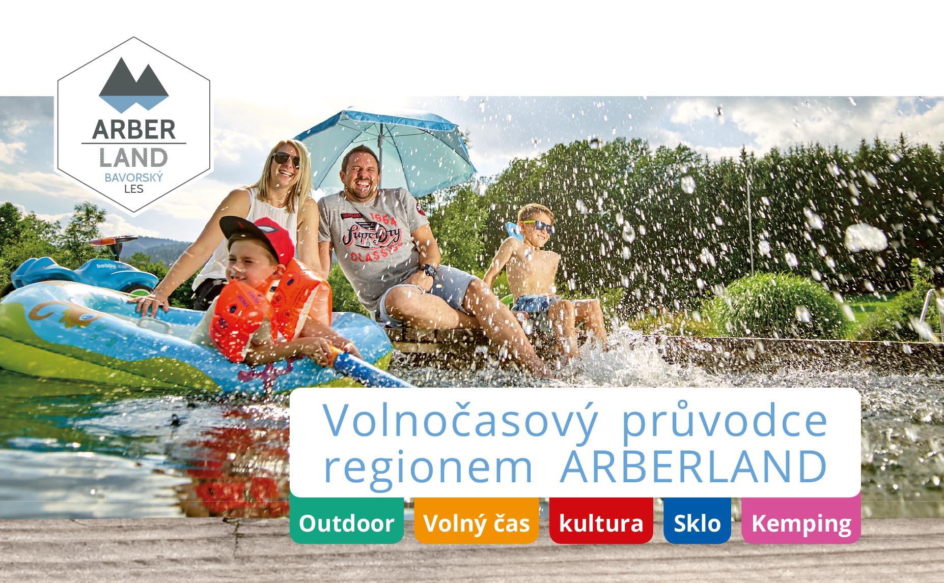Freizeitführer ARBERLAND (tschechisch) Foto: ARBERLAND REGio GmbH