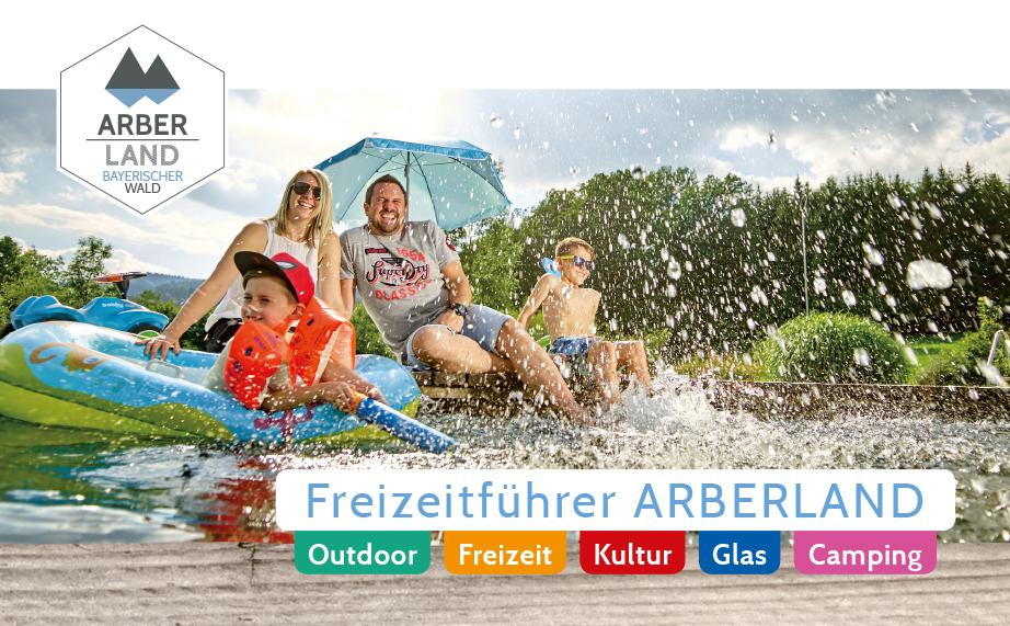 Freizeitführer ARBERLAND. Foto: ARBERLAND REGio GmbH.