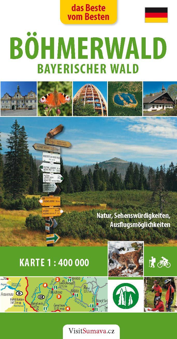 Reiseführer das Beste vom Besten: Böhmerwald-Bayerischer Wald. Foto: Touristisches Service Center.