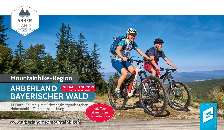 Tourenbuch Mountainbike-Region ARBERLAND BAYERISCHER WALD. Foto: ARBERLAND REGio GmbH.