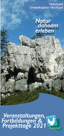 Naturpark Umweltstation Viechtach - Veranstaltungen, Fortbildungen und Projekttage 2021. Foto: Naturpark Bayerischer Wald.