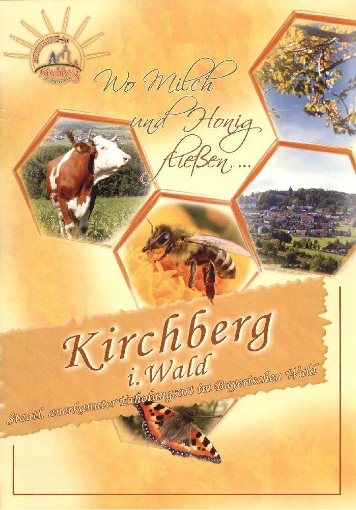 Kirchberg - Imageprospekt und Gastgeberverzeichnis. Foto: Tourist-Information Kirchberg.