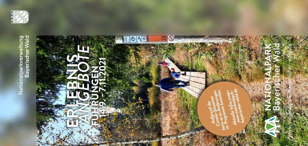 Herbstführungsprogramm im Nationalpark. Foto: Nationalpark Bayerischer Wald.