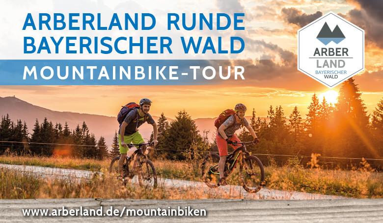 ARBERLAND-Runde Bayerischer Wald Mountainbike-Tour. Foto: ARBERLAND REGio GmbH.