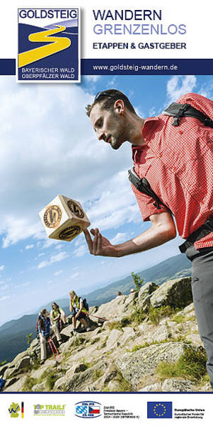 Goldsteig Etappenführer. Foto: Tourismusverband Ostbayern e.V.
