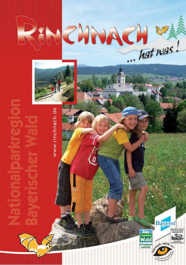 Gastgeberverzeichnis Rinchnach. Foto: Tourist-Information Rinchnach.