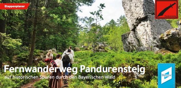 Fernwanderweg Pandurensteig. Foto: Tourismusverband Ostbayern e.V.