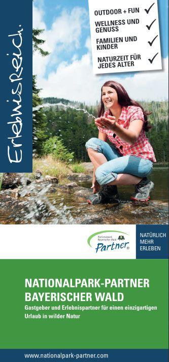 Imageflyer Nationalpark-Partner. Foto: Nationalpark Bayerischer Wald.