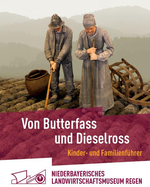 Kinder- und Familienführer fürs Landwirtschaftsmuseum. Foto: Niederbayerisches Landwirtschaftsmuseum Regen