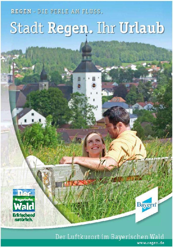 Imageprospekt Regen. Foto: Tourist-Information Regen.