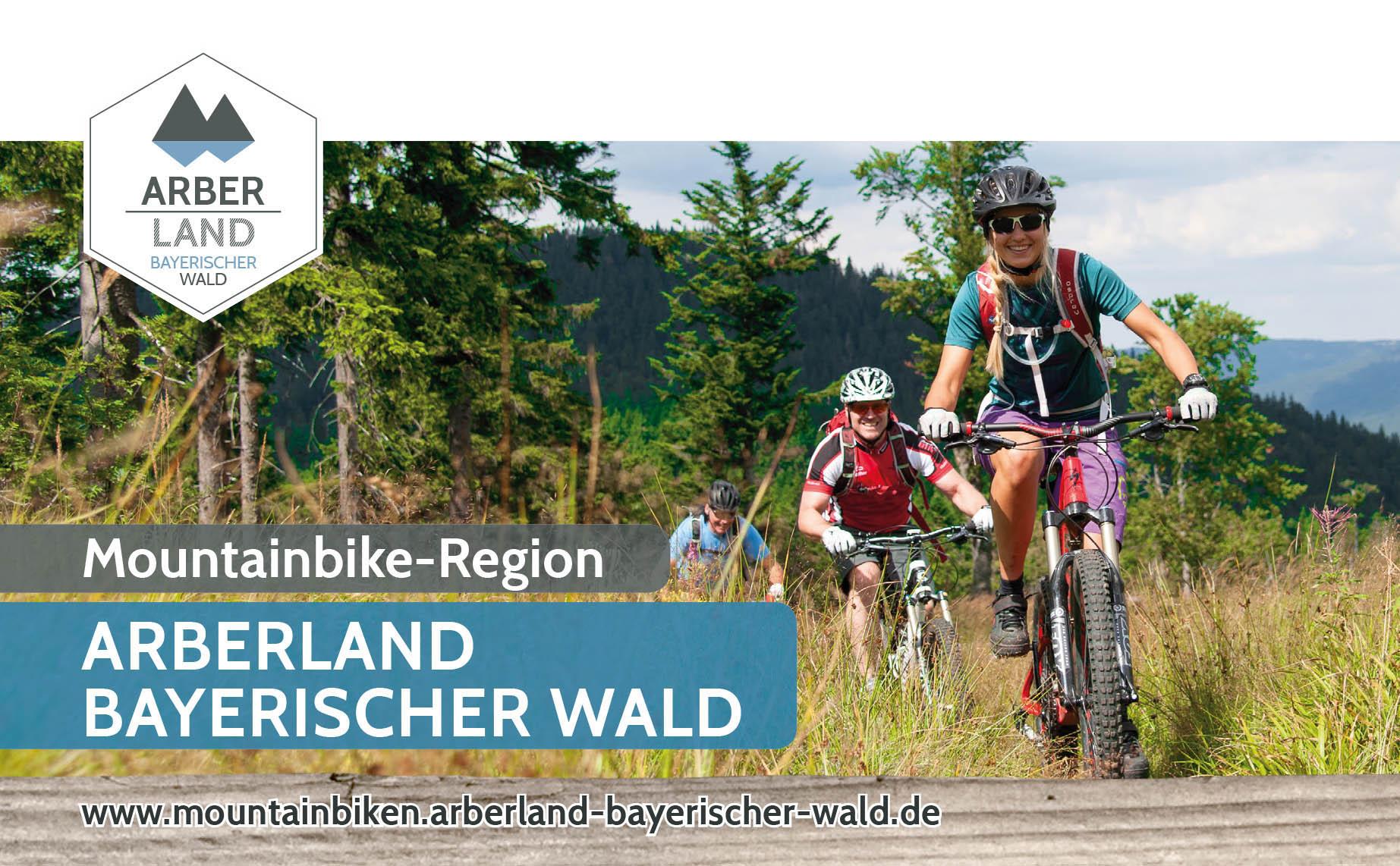 Mountainbike-Karte ARBERLAND. Foto: ARBERLAND REGio GmbH.