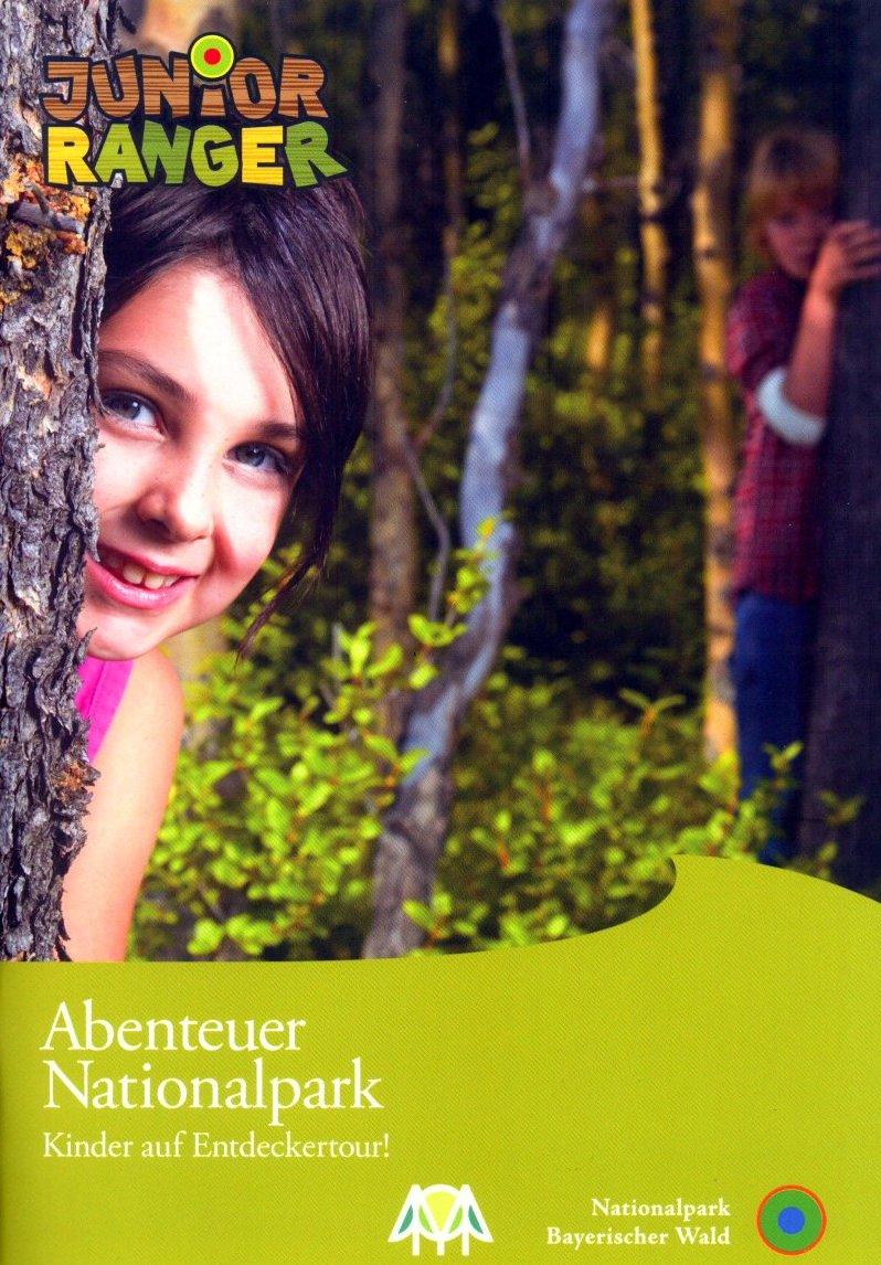 Junior Ranger - Kinder auf Entdeckertour. Foto. Nationalpark Bayerischer Wald.