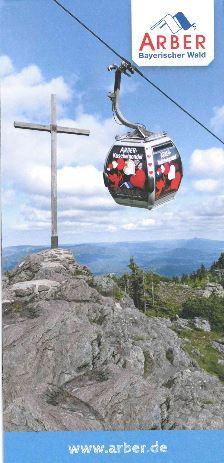 Großer Arber - Sommer. Foto: Arber Bergbahn.