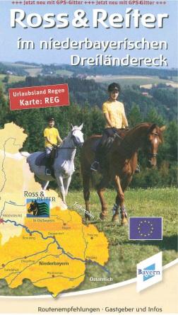 Reitkarte Ross & Reiter. Foto: Tourismusverband Ostbayern e.V.