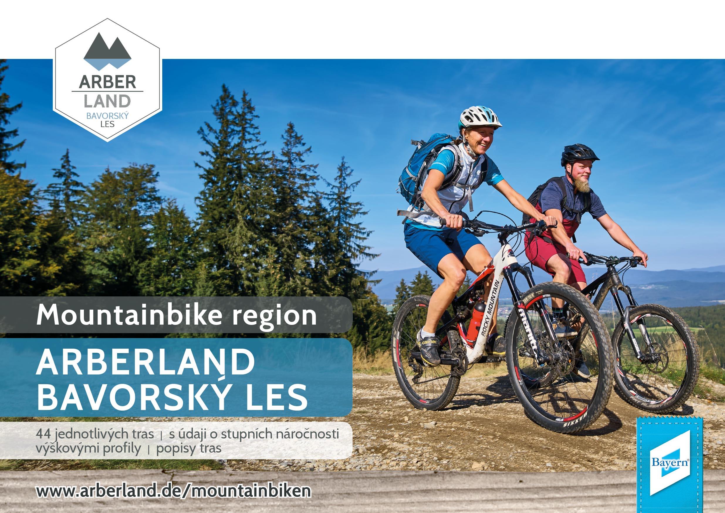 Mountainbike region ARBERLAND BAVORSKÝ LES. Foto: ARBERLAND REGio GmbH.