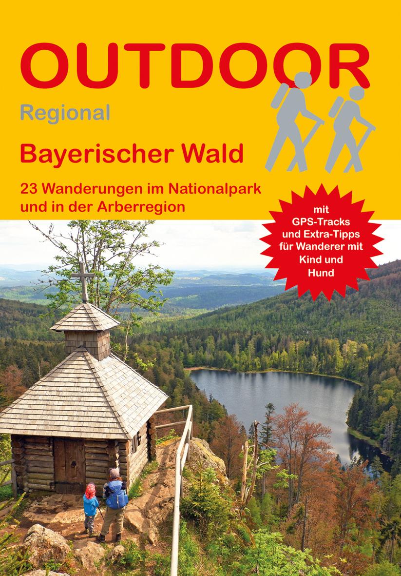 Bayerischer Wald: 23 Wanderungen im Nationalpark und in der Arberregion. Foto: Conrad Stein Verlag.