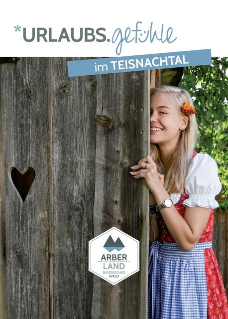 Gastgeberverzeichnis Teisnachtal. Foto: Tourist-Information Ruhmannsfelden.
