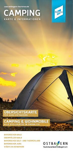 Camping-Info. Foto: Tourismusverband Ostbayern e. V.