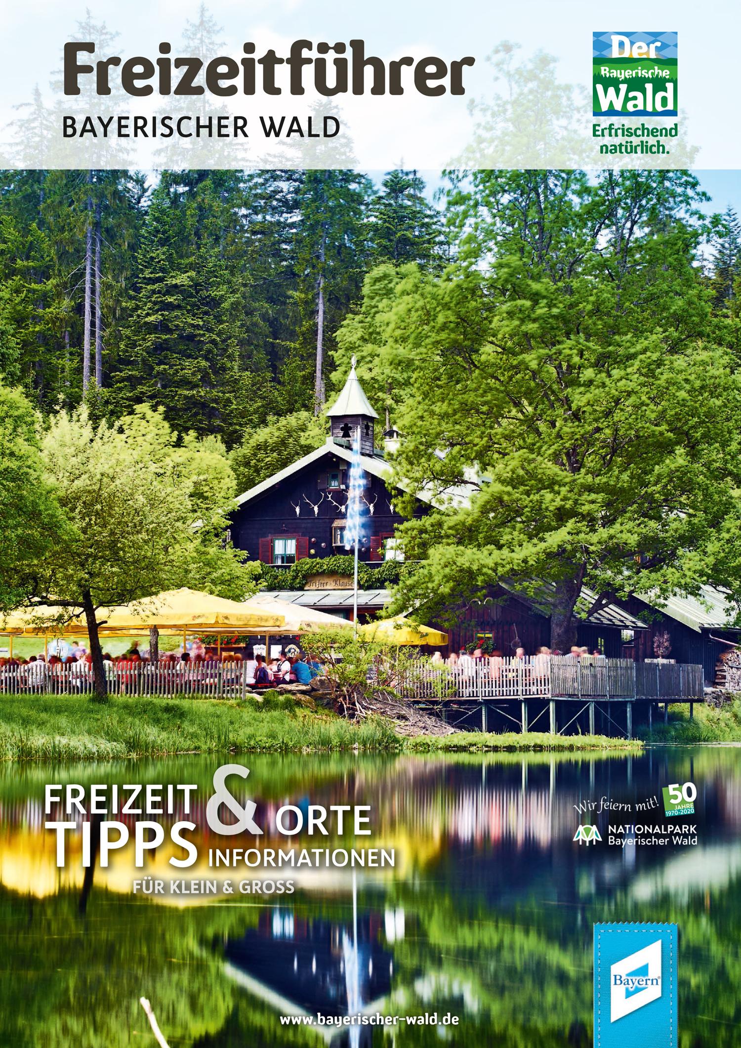 Freizeitführer Bayerischer Wald. Foto: Tourismusverband Ostbayern e.V.
